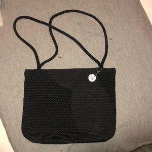 The sak brand crocheted purse